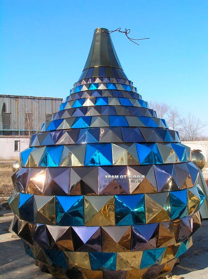 Как сделать купол на храм 25